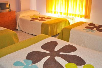 Habitación en Hotel Residencia O Parranda en Camariñas-Costa da Morte
