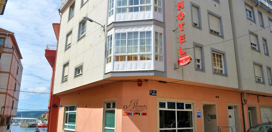 Hotel Residencia O Parranda en Camari�as-Costa da Morte